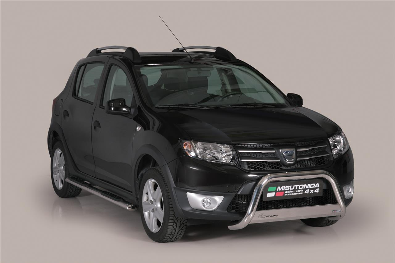 ecmed347 medium bar inox 63 dacia sandero stepway 2013 ce dacia sandero stepway. Black Bedroom Furniture Sets. Home Design Ideas