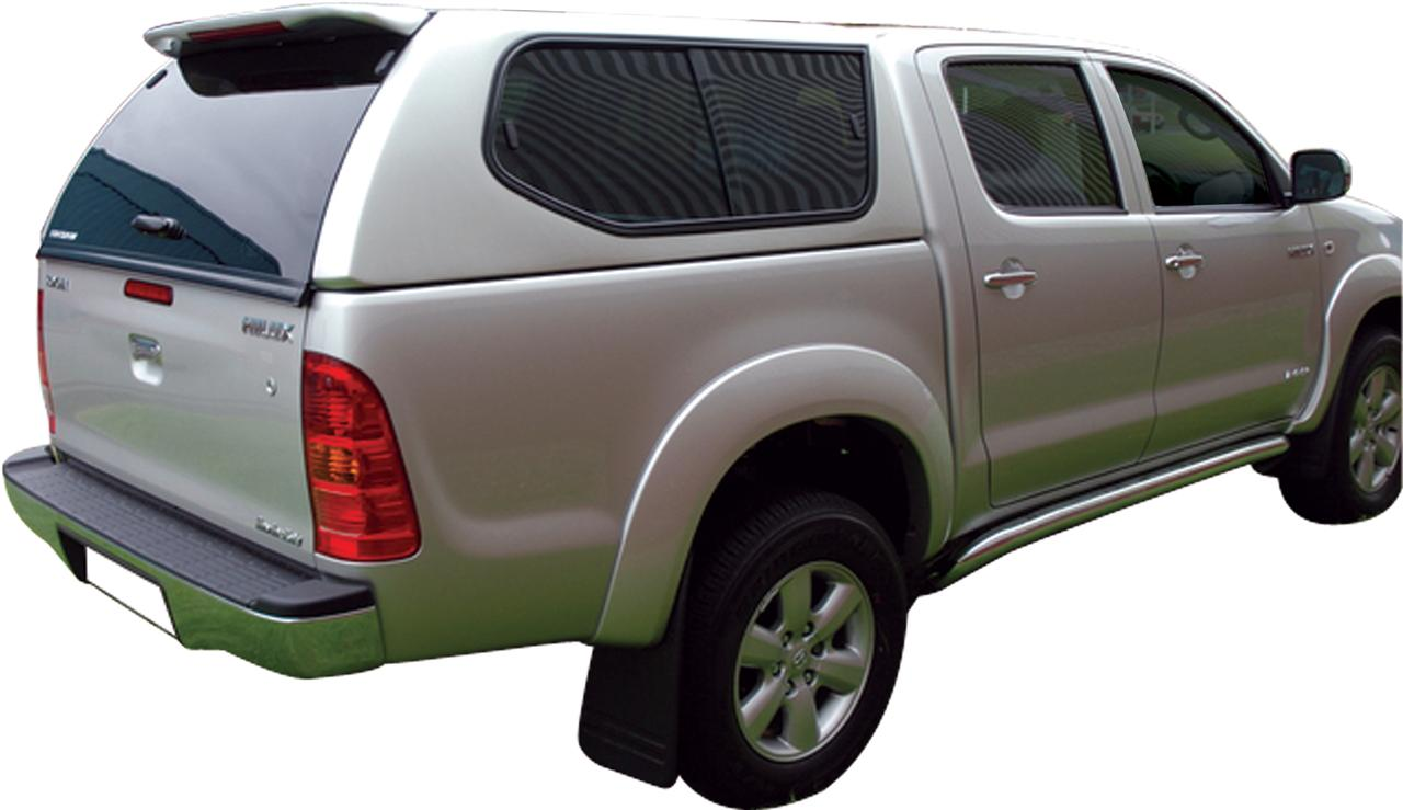 fk99 hard top sline gls toyota vigo 2005 2015 double cab avec vitres non peint toyota hilux. Black Bedroom Furniture Sets. Home Design Ideas