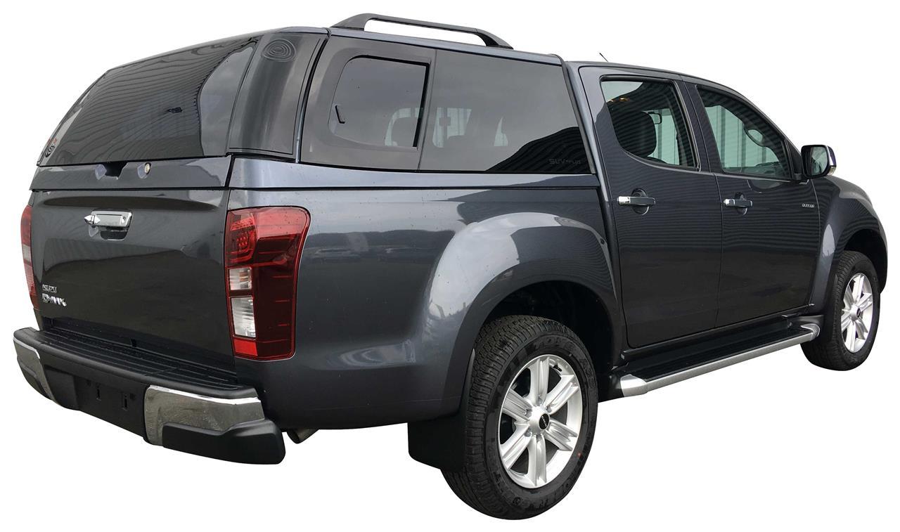 hard top acier isuzu dmax 2012 crew cab gris mineral grey 530. Black Bedroom Furniture Sets. Home Design Ideas