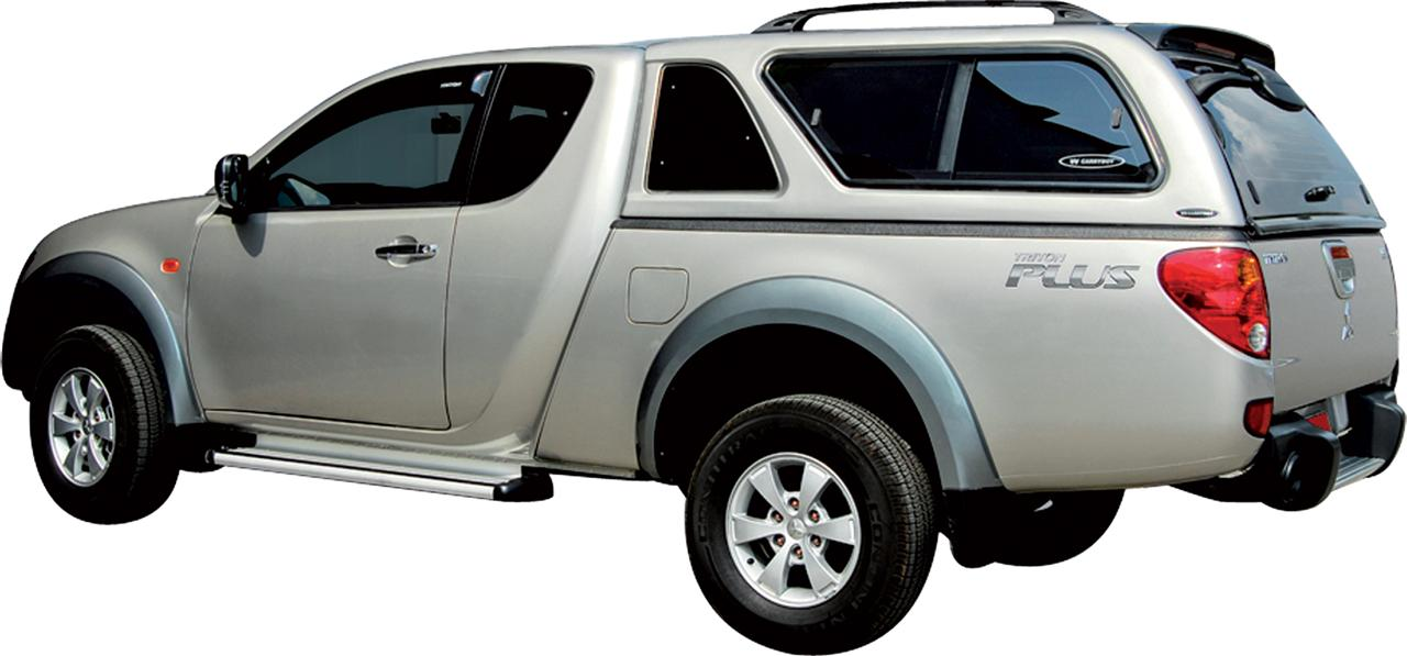 mk383 hard top carryboy mitsubishi l200 club cab 2010. Black Bedroom Furniture Sets. Home Design Ideas