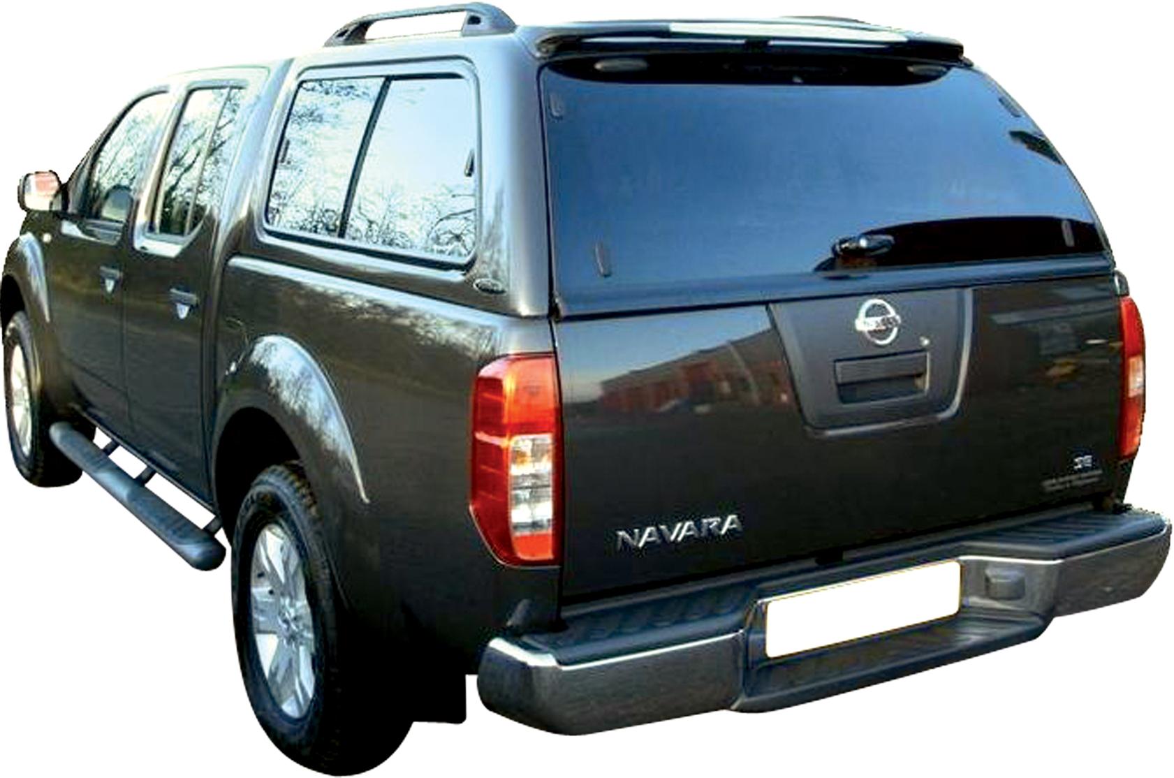 nk202 hard top carryboy nissan navara king cab 05 avec vitres nissan navara. Black Bedroom Furniture Sets. Home Design Ideas
