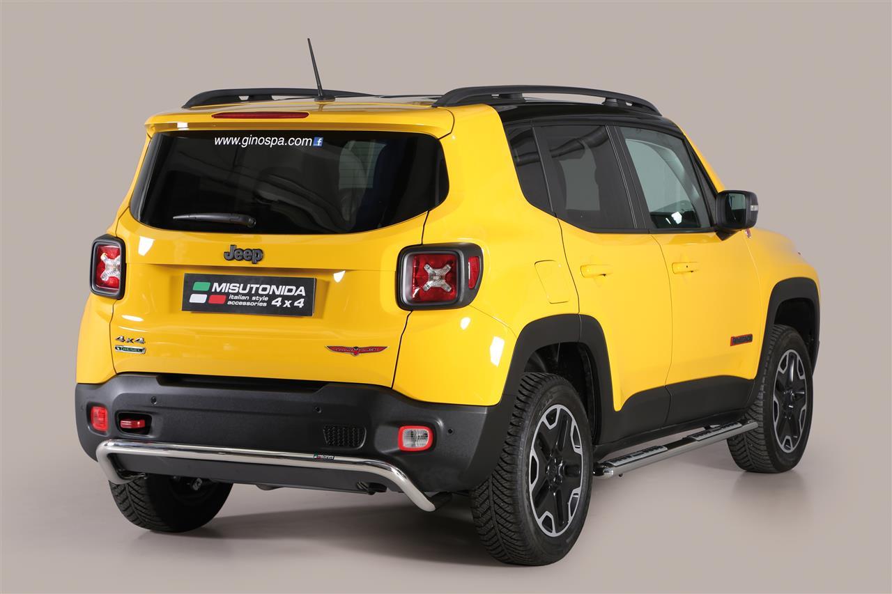 pp1376ix pare choc arriere inox 50 jeep renegade 2014 inclus trailhawk jeep renegade. Black Bedroom Furniture Sets. Home Design Ideas
