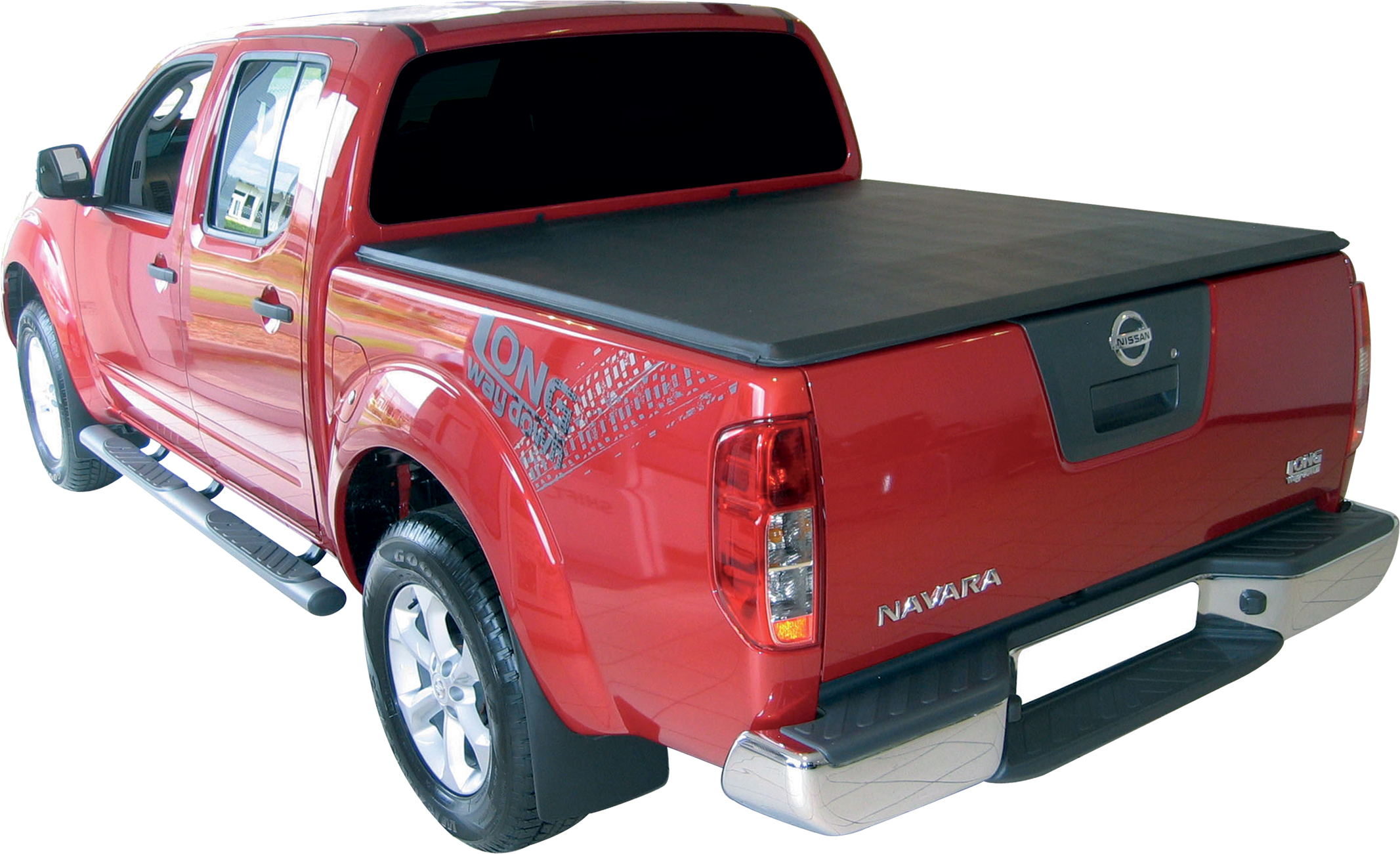sftc0006 bache plate noire nissan d40 double cabine 150cm 2006 2015 nissan navara. Black Bedroom Furniture Sets. Home Design Ideas