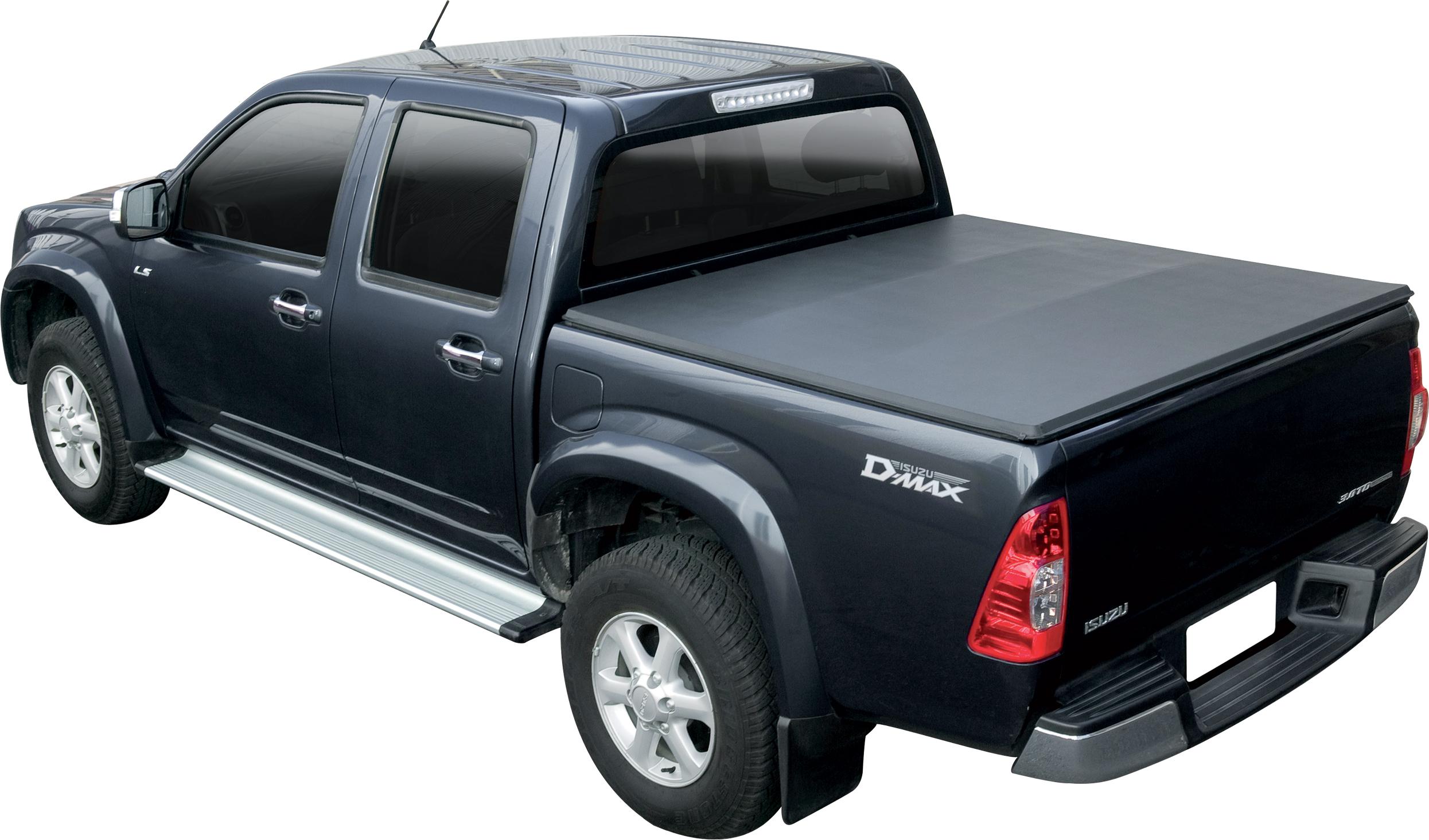 sftc0041 bache plate noire isuzu d max 2012 space cab isuzu d max. Black Bedroom Furniture Sets. Home Design Ideas
