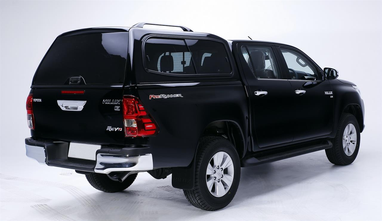 sv2k-218 - hard top smmv2 toyota hilux extra cab 2016+ noir 218