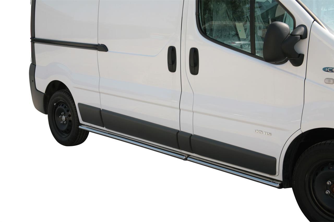 tpso251ix tube bas de caisse inox ovale renault trafic l2 2007 2013 renault trafic. Black Bedroom Furniture Sets. Home Design Ideas